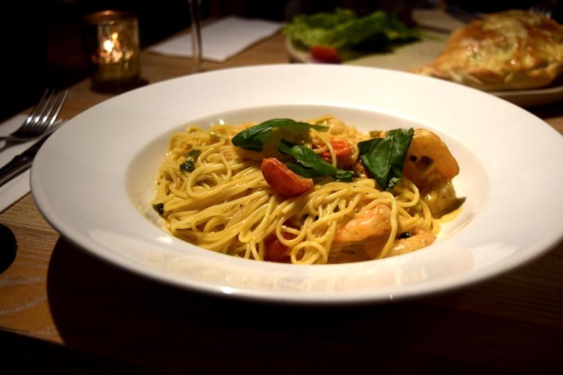 Tiger-prawn-pasta