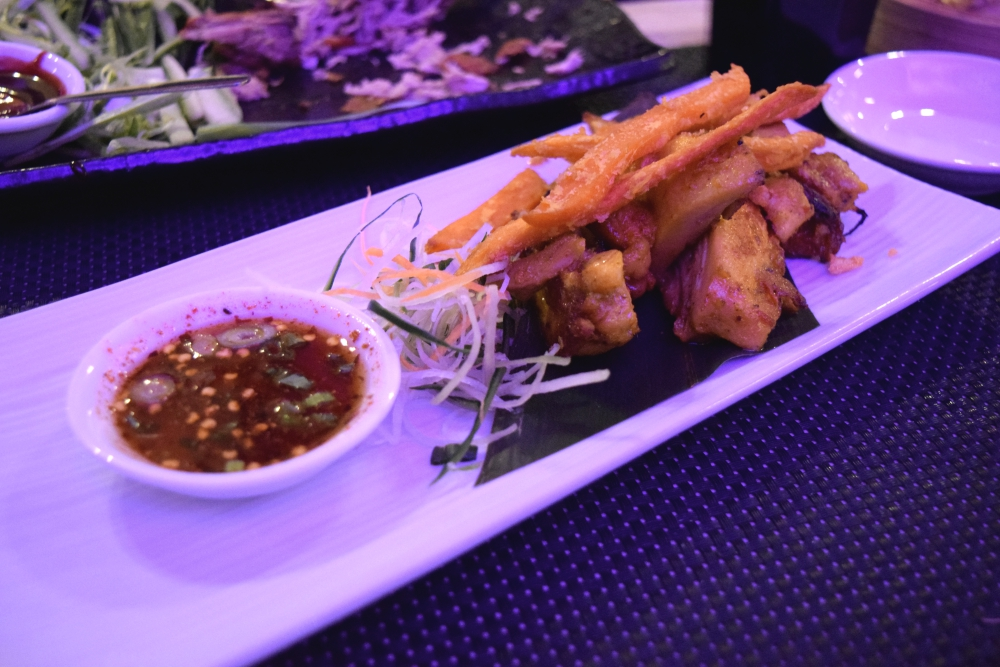 Thai grilled chicken kai yang