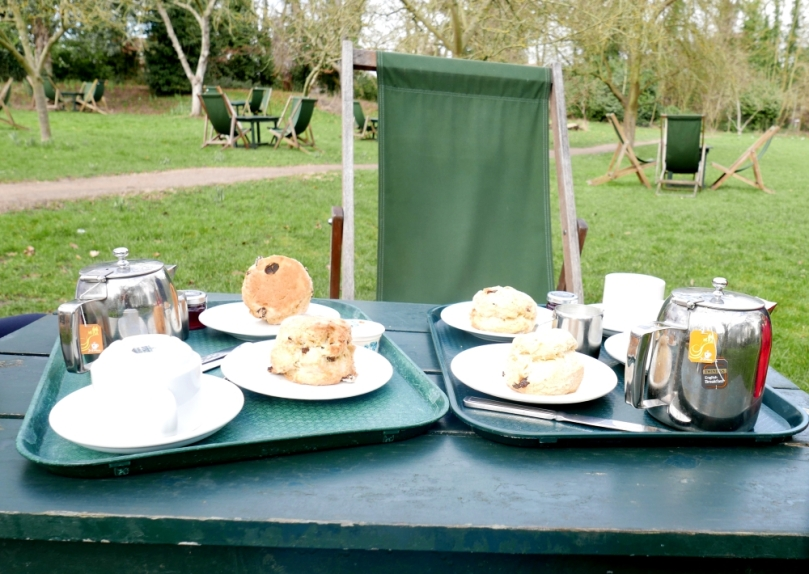 Cambridge - Grantchester scones