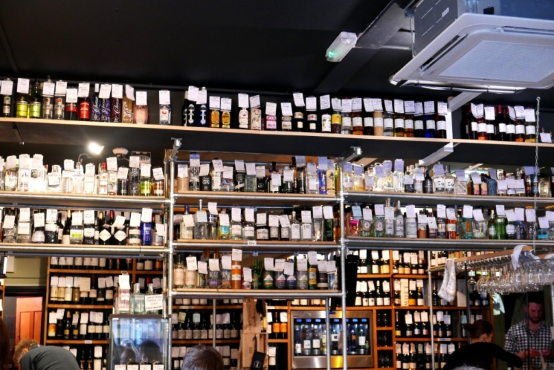 Cambridge wine bar